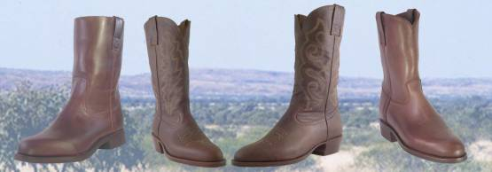 Harold Boot Company, western boots, work boot, horse riding boots for men and women.